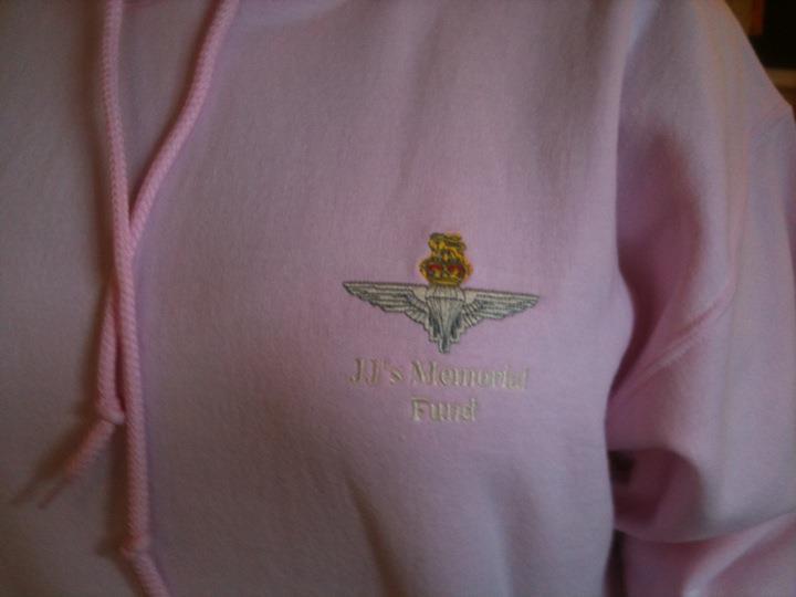 jjs memorial fund hoodie pink female