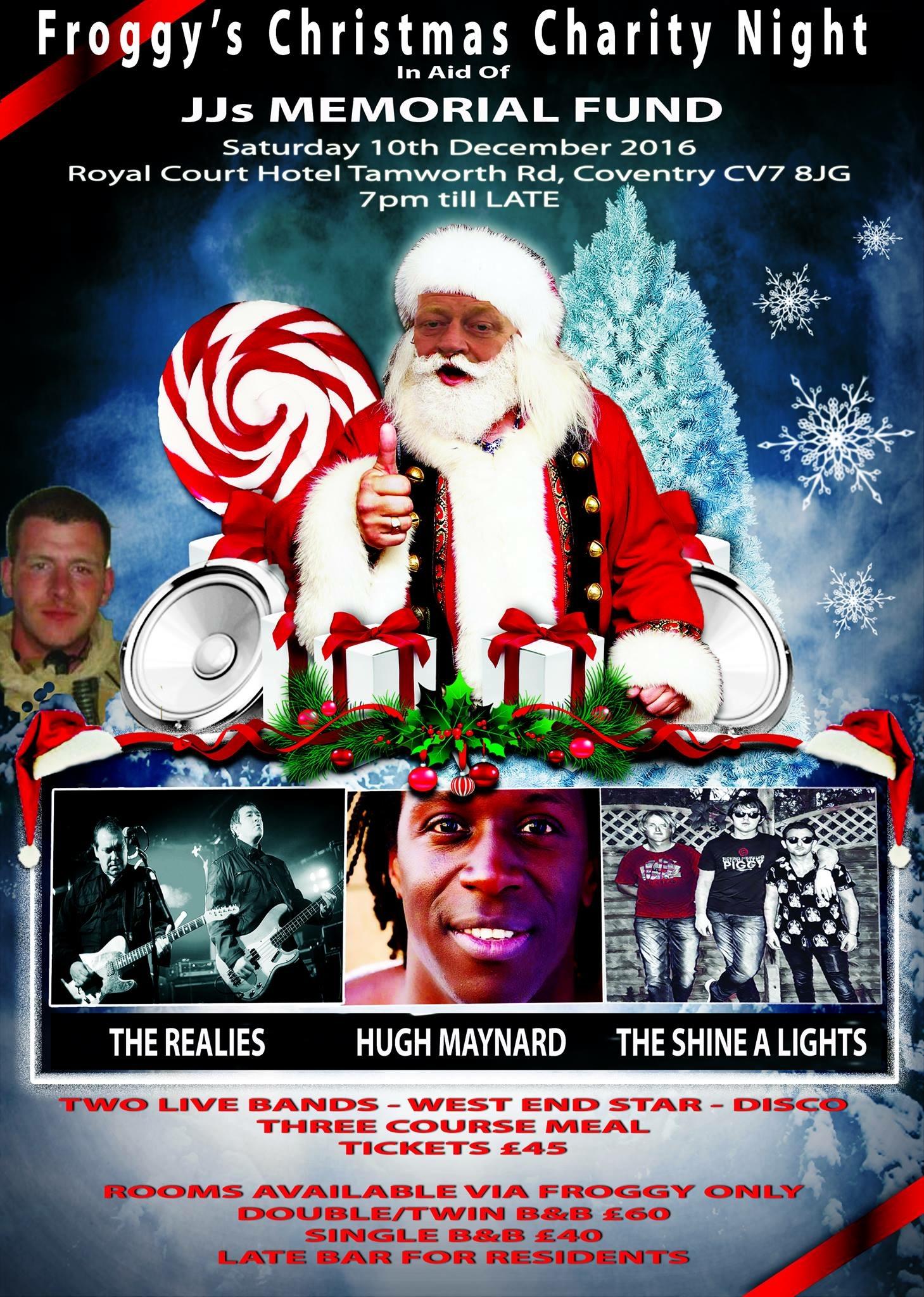 jjs memorial fund christmas charity night